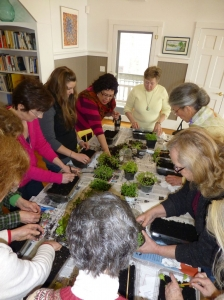 The Baby Greens workshop at the WHRL. Don't miss Starting Plants from Seeds Saturday, April 5!
