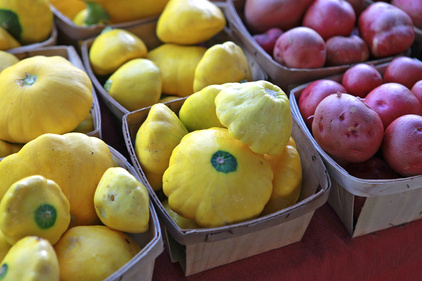 Market Day Stuffed Pattypan Squash