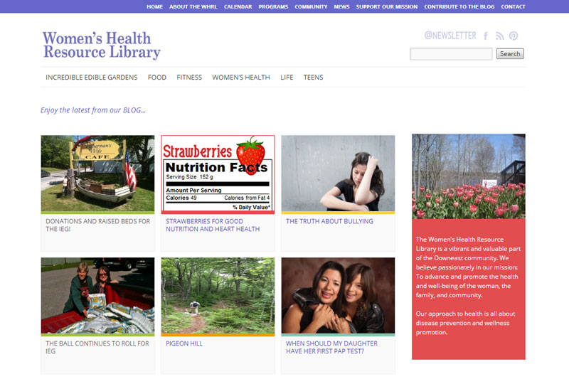 WHRL's New Web Site