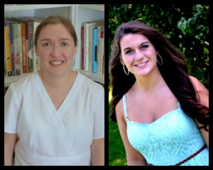 Nettie Kate Jordan (left) and Lauren Ramsay (right) recipients of the Elaine Hill memorial scholarships.