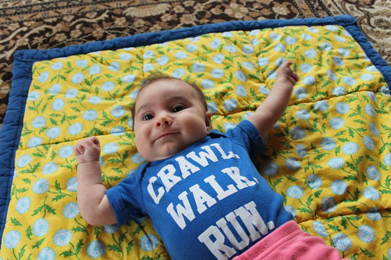 Crawl. Walk. Run. Finding Room for Fitness Postpartum