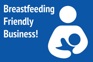 """HATS OFF"" to Machias Savings Bank for Being a Breast Feeding Friendly Workplace"