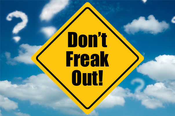 It may not go the way you planned – don't freak out!