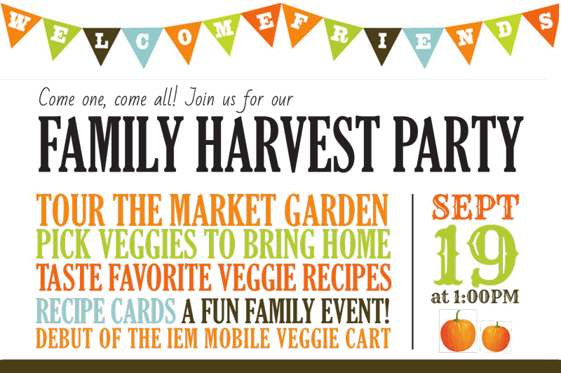 Family Harvest Party