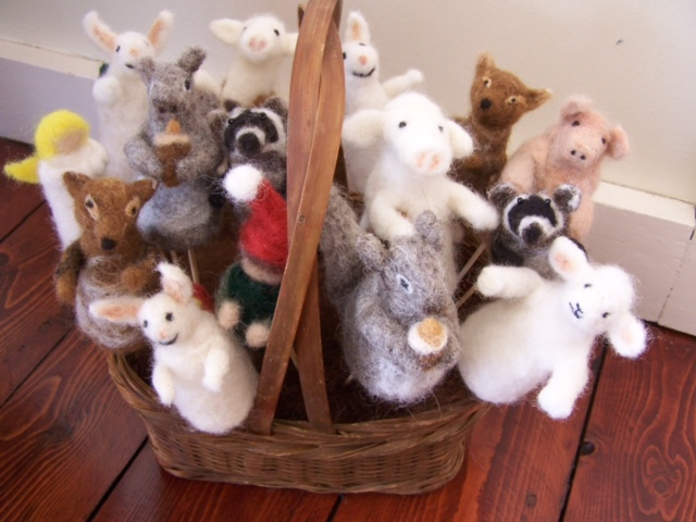 Needle Felting Animal Ornaments with Gail Morehouse