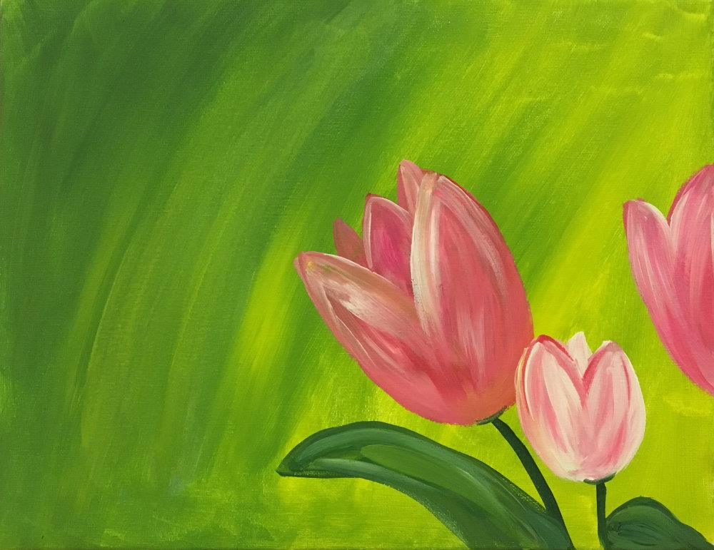 May 24th Paint Night at the WHRL