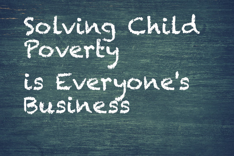 Invest in Tomorrow: Solving Child Poverty is Everyone's Business