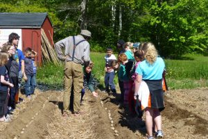 milbridge elementary school and incredible edible milbridge