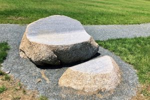 Stone Bench by Jesse Salisbury
