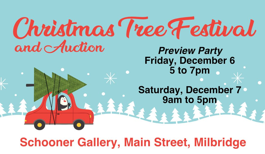 Christmas Tree Festival Sneak Peek on Friday, December 6!
