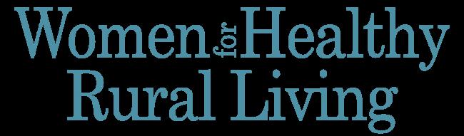 Logo for Women for Healthy Rural Living
