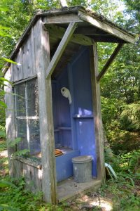 An Outhouse