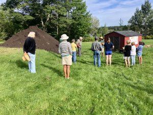 Farmer leading a workshop